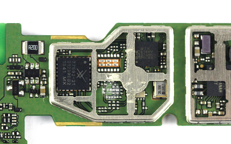 荣耀7手机主板充电电路图