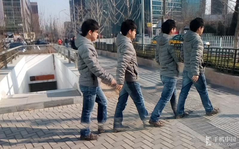 运动轨迹拍摄_中兴青漾2
