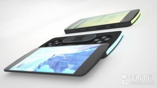 设计了p3概念机,看来在未来智能手机和高级掌上游戏