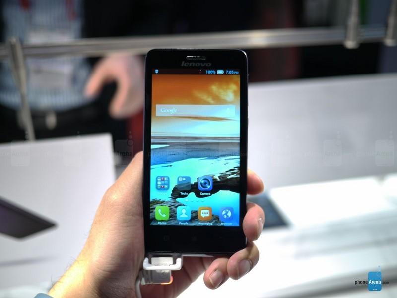 手机 中国 联想/4.7英寸屏四核千元联想S660高清图赏(1/7)