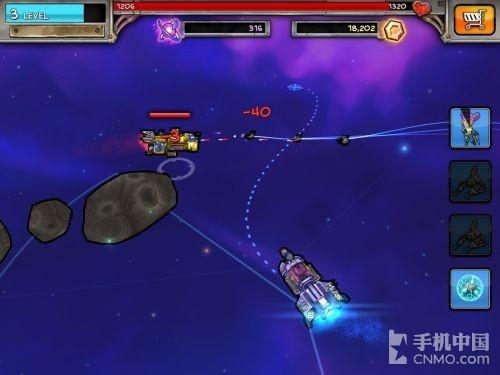 《太空掠夺》的游戏画质采用了90年代的美式卡通