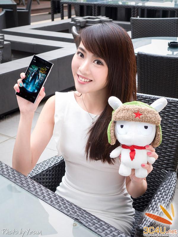小米3香港美女秀
