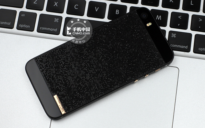 背镶碎钻售价10万 豪华版iphone 5s开箱