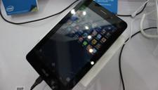 金属系强芯平板 华硕FonePad展出