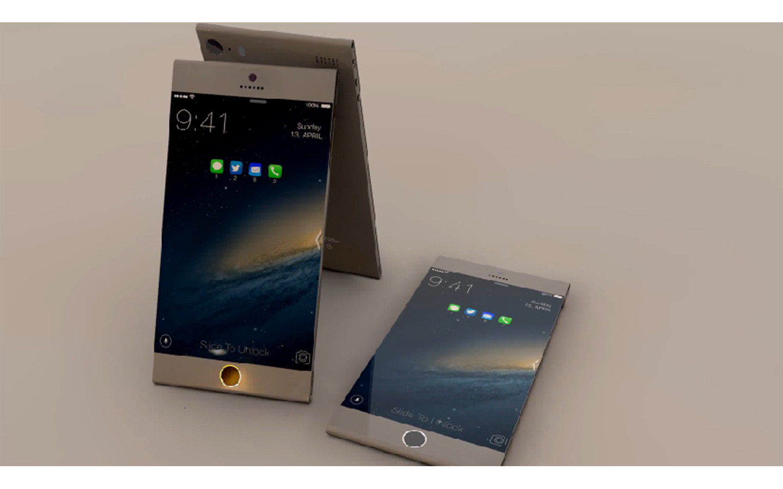 2mm金属无边框 最美iphone