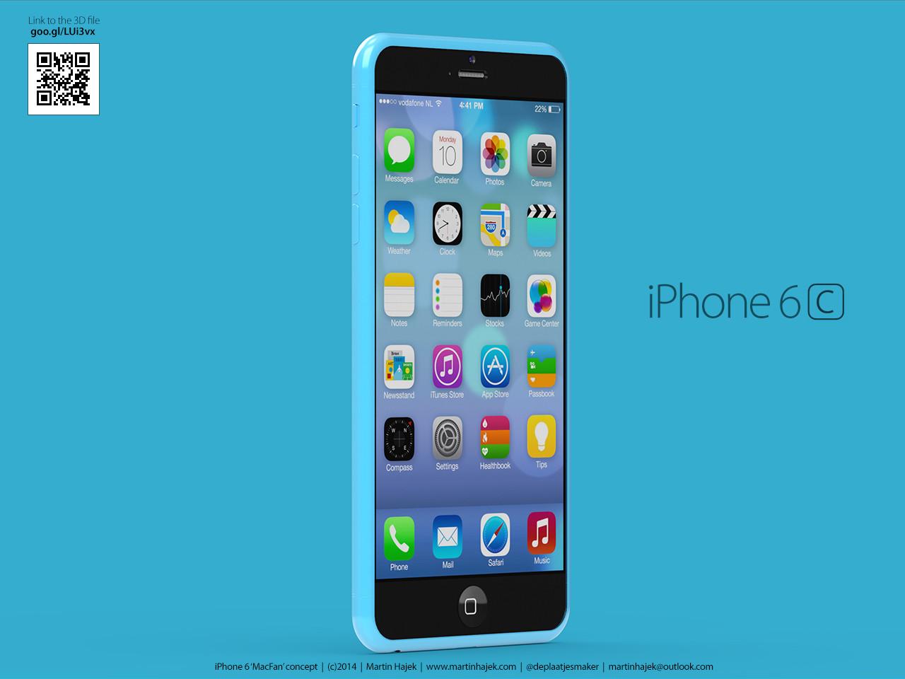 超薄无边框设计 iphone 6s/6c概念图曝光