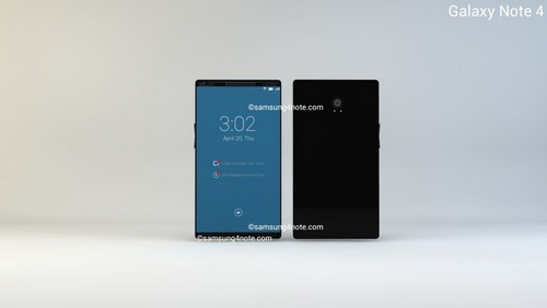 5.5英寸2K屏骁龙805 曝新概念三星Note4