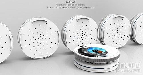 另类大饼形状设计 sero phone概念机