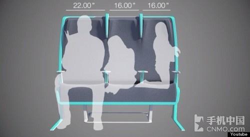 morph概念飞机座椅 为顾客量身定制