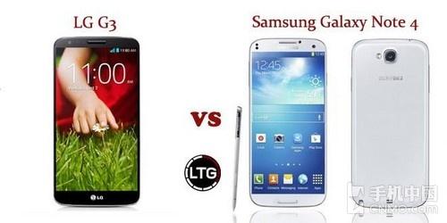 两强对决 Note 4与LG G3传闻配置对比第1张图