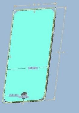 iphone 6模具设计图纸曝光