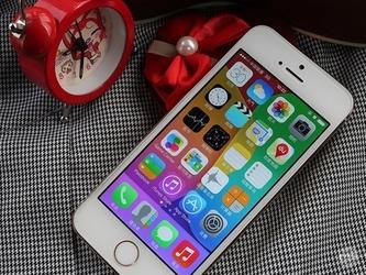 A7处理器金属身 港版iPhone 5s仅4199元
