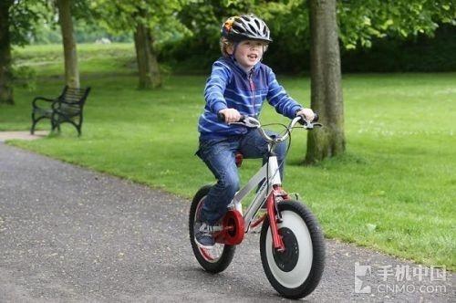 jyrobike自行车 让学骑车从此告别摔伤