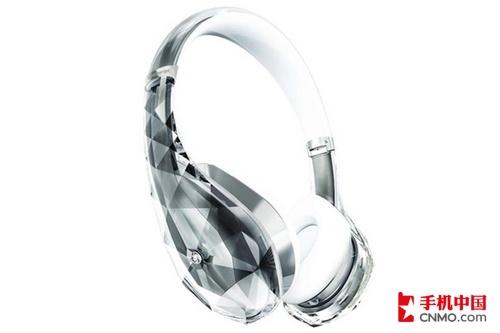 时尚奢华设计  魔声钻石之泪耳机