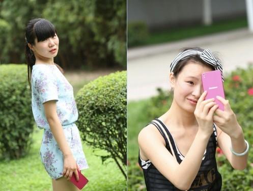 联想手机S850征服女人心 为美丽带颜