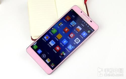 时尚靓丽/4G双卡双通酷派S6粉色版评测