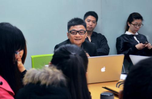 同济大学设计创意学院的老师表示希望本校的设计专业学生能与酷派深入