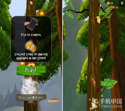 可360°旋转的跑酷 疯狂的松鼠游戏试玩