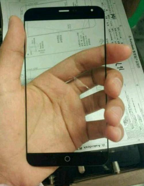 窄边/防指纹 疑似MX4面板及设计图曝光
