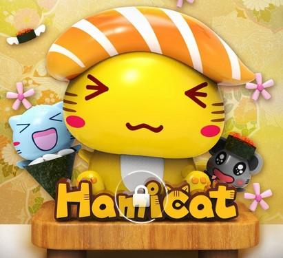 营造出一个属于吃货的萌萌的可爱世界,《哈咪猫-寿司篇》主题以全新的