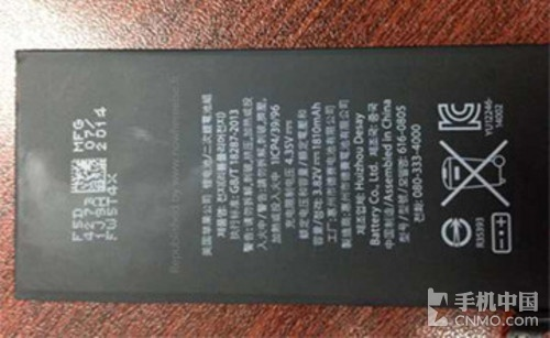 电池或成短板 iPhone6仅有1810毫安时