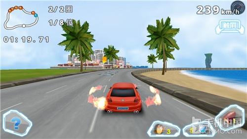 速度与激情的碰撞 《3D狂野飞车》试玩