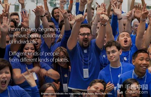 苹果员工多样性报告