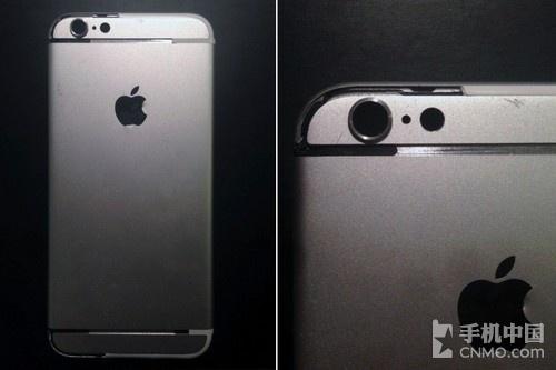 摄像头凸出 疑似银色iPhone 6后壳曝光