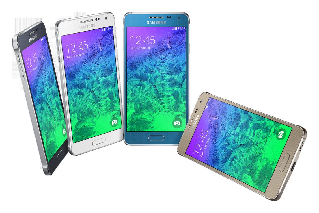 金属边框/多彩时尚 Galaxy Alpha发布
