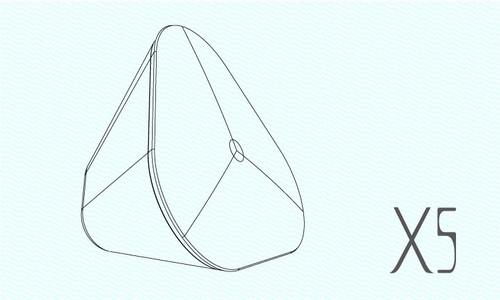 独特三角形稳固造型,简约时尚,让人爱不释手;金属喇叭网结合半透明外框,尽显时尚大气;喇叭采用辐射气流倒向技术,为你提供纯正完美音质。X5,为乐而生! 被独特的造型惊呆了?那么ICON音箱产品从3W、5W--30W的丰富的产品线,无论户外旅行还是居家享受都将持续惊呆你的视听,款款炫酷、款款精品,为乐而生!