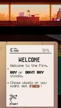 像素风金融类新游 《商业事务所》发布