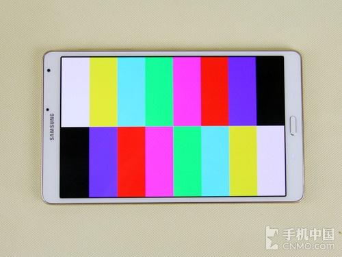 超清绚丽自适应显示 三星Tab S屏幕测试