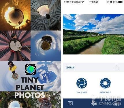 拍出星球效果 Tiny Planet Photos限免