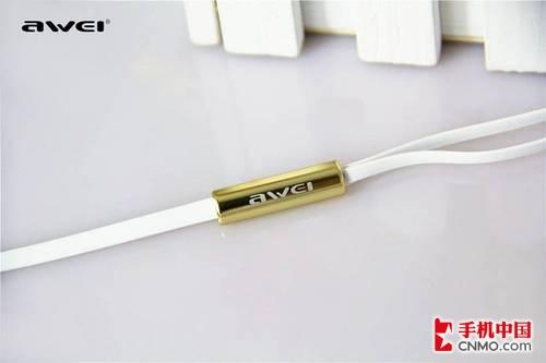 Hifi入耳式土豪金 AWEI用维S60hi评测