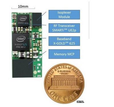 面积仅300平方毫米 英特尔将推最小芯片