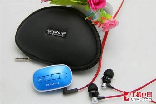 可爱系随身带 AWEI A300蓝牙耳机