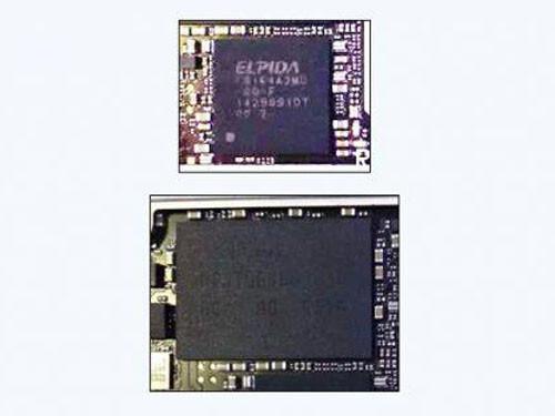 A8X芯片2GB内存 iPad Air 2主板谍照曝光