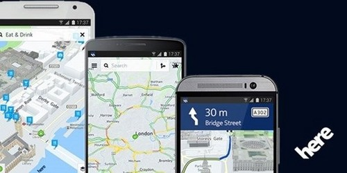 Android用户久等了 诺基亚Here地图第1张图