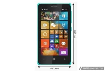 比535定位更低 Lumia 435谍照/配置曝光