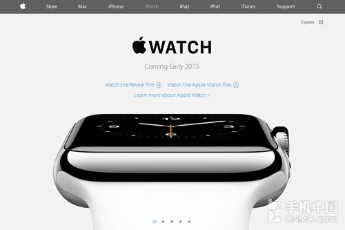 苹果官网更新:Apple Watch即将第1张图