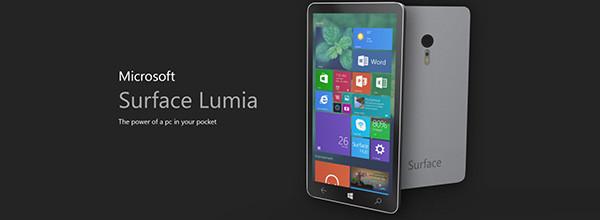 微软Lumia概念手机 回归本质 简约不简单