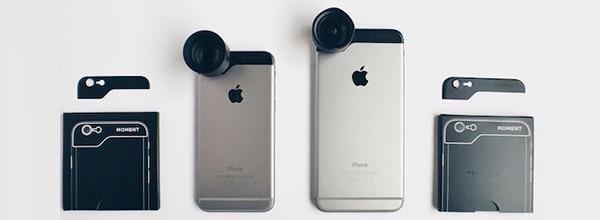 Moment全新设备属于iPhone 6的专属镜头