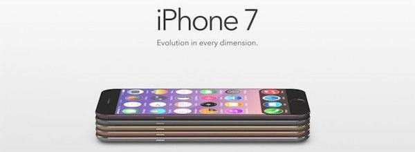 超薄机身立体声扬声器 iPhone 7概念机