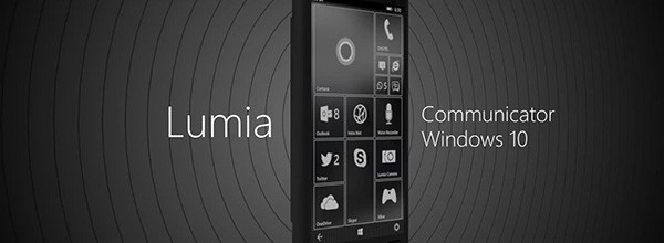 功能合二为一Lumia Communicator概念机