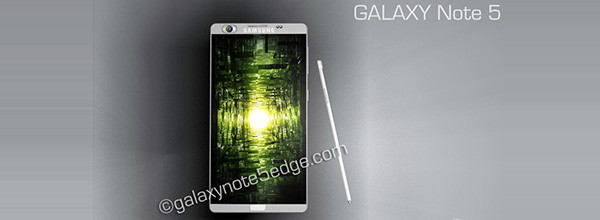 旋转镜头超薄身三星Galaxy Note5概念机