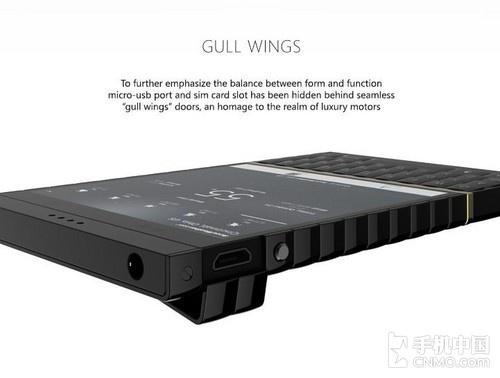 硬朗风格直板机身 超霸气版黑莓L概念机