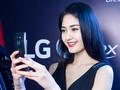 LG曲面屏手机美女展