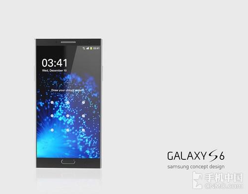 三星Galaxy S6概念机 这造型好看到醉了