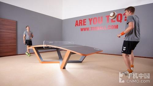 Teqball桌上足球 让你体验不一样的足球