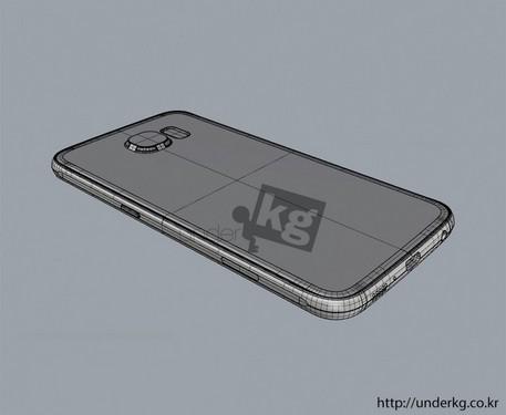 最接近真实 三星Galaxy S6渲染图曝光第3张图